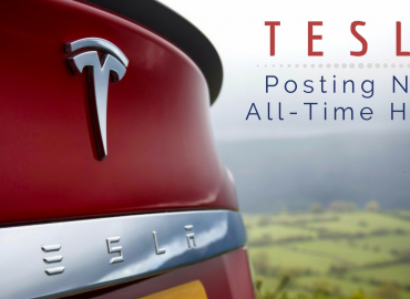 Tesla Posts New All Time High